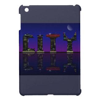Abstract skyline. iPad mini case