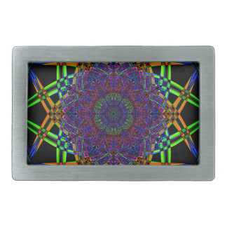 Abstract Smoke Design Belt Buckle