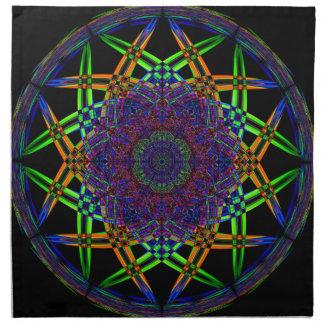 Abstract Smoke Design Napkin