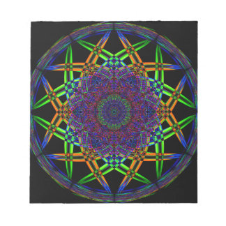 Abstract Smoke Design Notepads