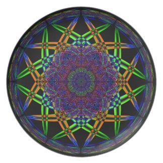 Abstract Smoke Design Plate