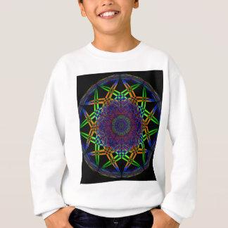 Abstract Smoke Design Sweatshirt