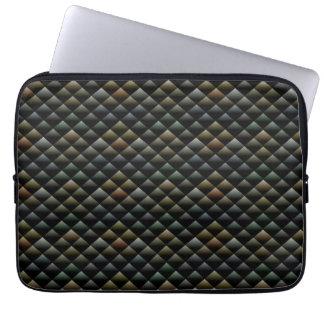 Abstract Snakeskin Pattern Laptop Sleeve