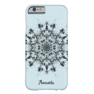 Abstract Snowflake Barely There iPhone 6 Case