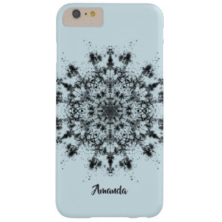 Abstract Snowflake Barely There iPhone 6 Plus Case
