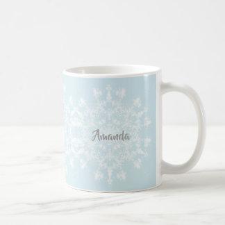 Abstract Snowflake Coffee Mug
