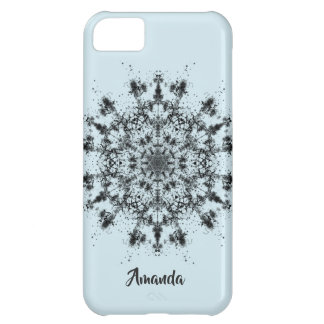Abstract Snowflake iPhone 5C Case
