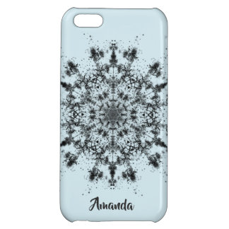 Abstract Snowflake iPhone 5C Cover
