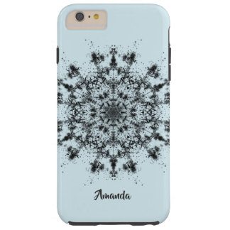 Abstract Snowflake Tough iPhone 6 Plus Case