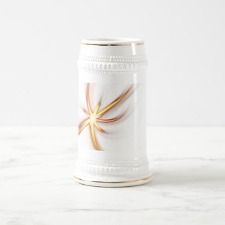 Abstract Solar Flare Beer Stein