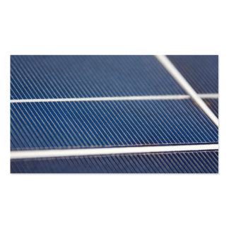 Abstract Solar Panels Business Card Templates