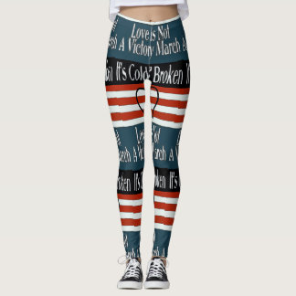 Abstract Songs style, Leggings