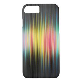 ABSTRACT SOUND MUSIC RAINBOW iPhone 7 HARD CASE
