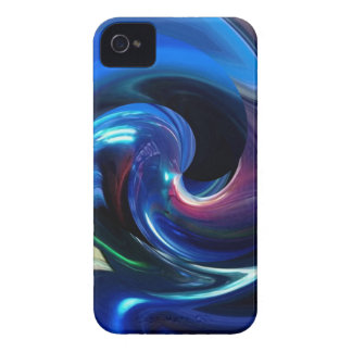 Abstract Spaceship iPhone 4 case