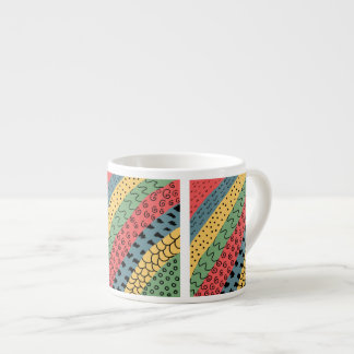 abstract espresso cup