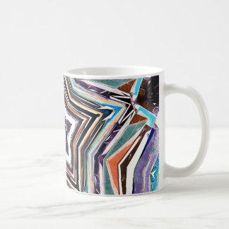 Abstract Spectral Star Coffee Mug