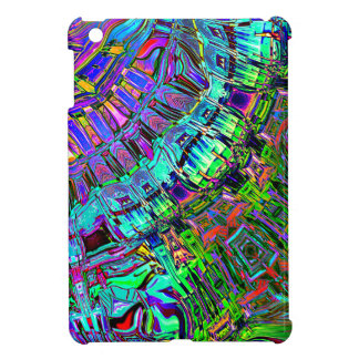 Abstract Spectrum of Shapes iPad Mini Case
