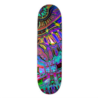 Abstract Spectrum of Shapes Skateboard