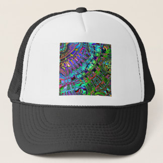 Abstract Spectrum of Shapes Trucker Hat