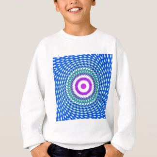 Abstract Spiral Design: Sweatshirt