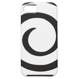 Abstract Spiral iPhone 5 Covers
