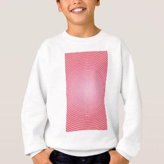 Abstract spiral pink background sweatshirt