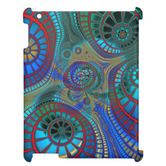 Abstract Spirals iPad Cover