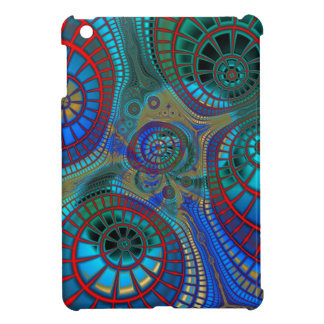 Abstract Spirals iPad Mini Covers