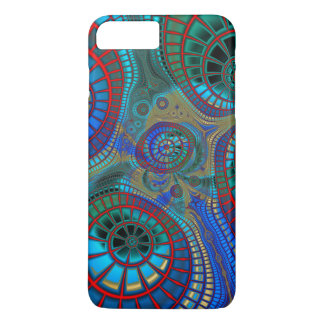 Abstract Spirals iPhone 8 Plus/7 Plus Case
