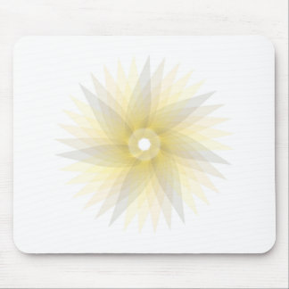 Abstract Spirograph Concentric Circle Pattern Mouse Pad