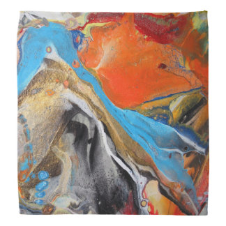 Abstract Splash Head Kerchief