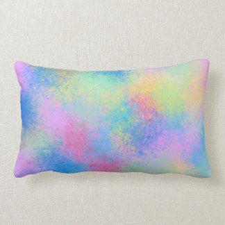 Abstract Splatter Decorative Pillow