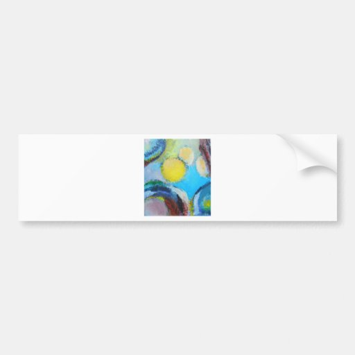 Abstract Spores (microscopic expressionism) Bumper Stickers