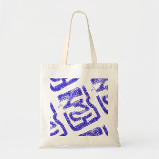abstract sprayed blue  Thunder_Cove Tote Bag