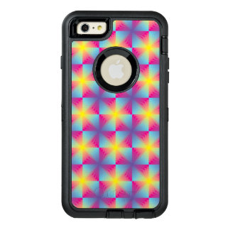 Abstract square vector mosaic OtterBox iPhone 6/6s plus case