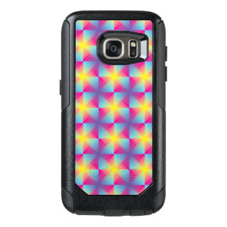 Abstract square vector mosaic OtterBox samsung galaxy s7 case
