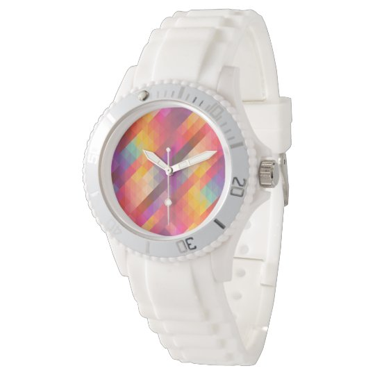 Abstract Square Watch