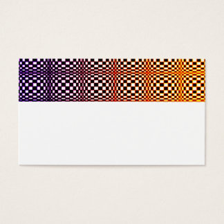 Abstract Squares 10 Business Card