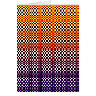 Abstract Squares 10(portrait) Card