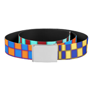 Abstract Squares 3 Belt