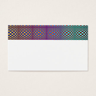 Abstract Squares 3 Business Card