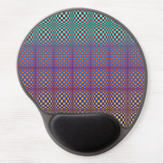 Abstract Squares 3 Gel Mouse Pad