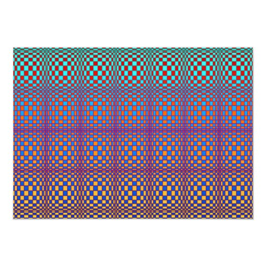 Abstract Squares 3 Invitation