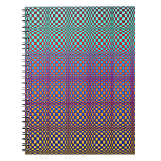 Abstract Squares 3 Notebook