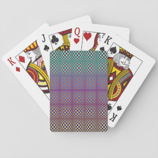 Abstract Squares 3 Playing Cards
