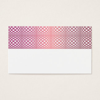 Abstract Squares 9 Business Card