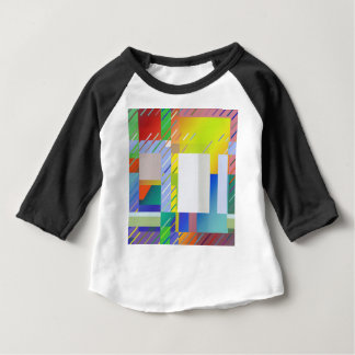 Abstract Squares Baby T-Shirt