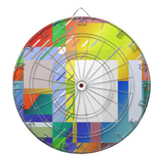 Abstract Squares Dartboard