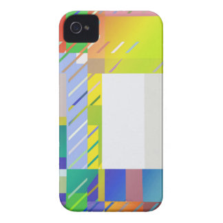 Abstract Squares iPhone 4 Case