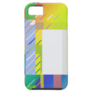 Abstract Squares iPhone 5 Cover